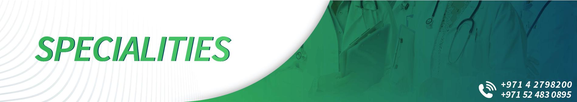 DRHC Dubai Doctor Specialities