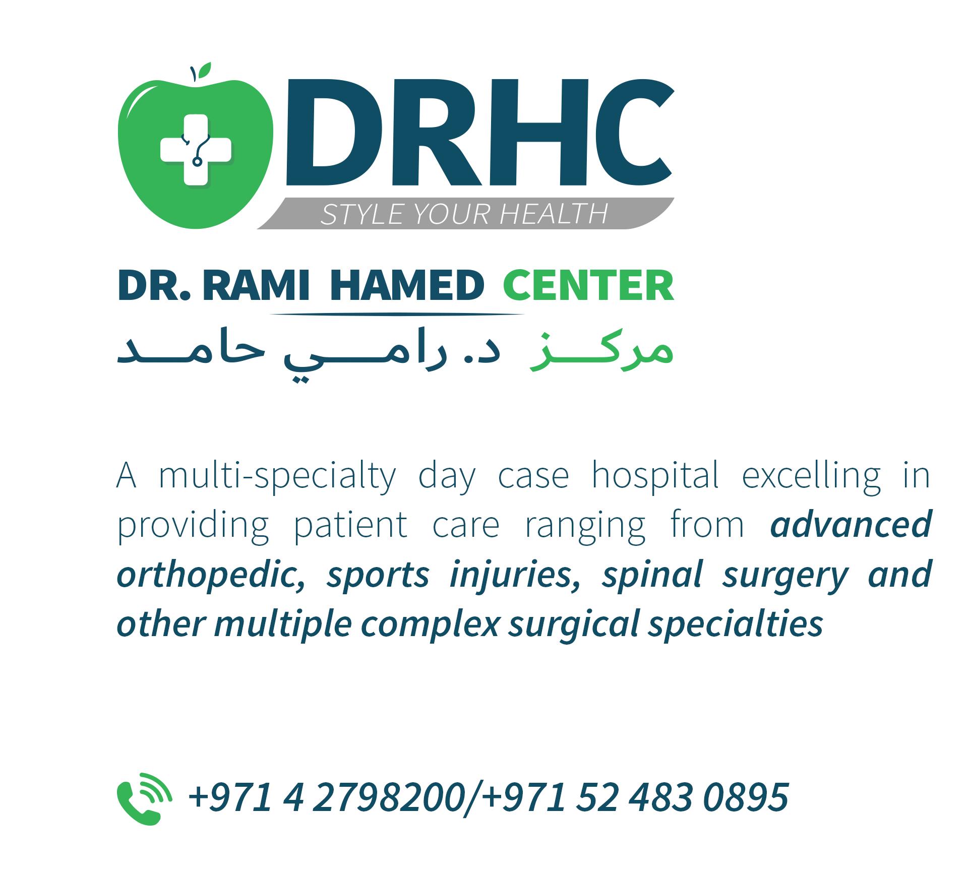 Dr Rami Hamed Center Dubai - Day case surgery hospital-1