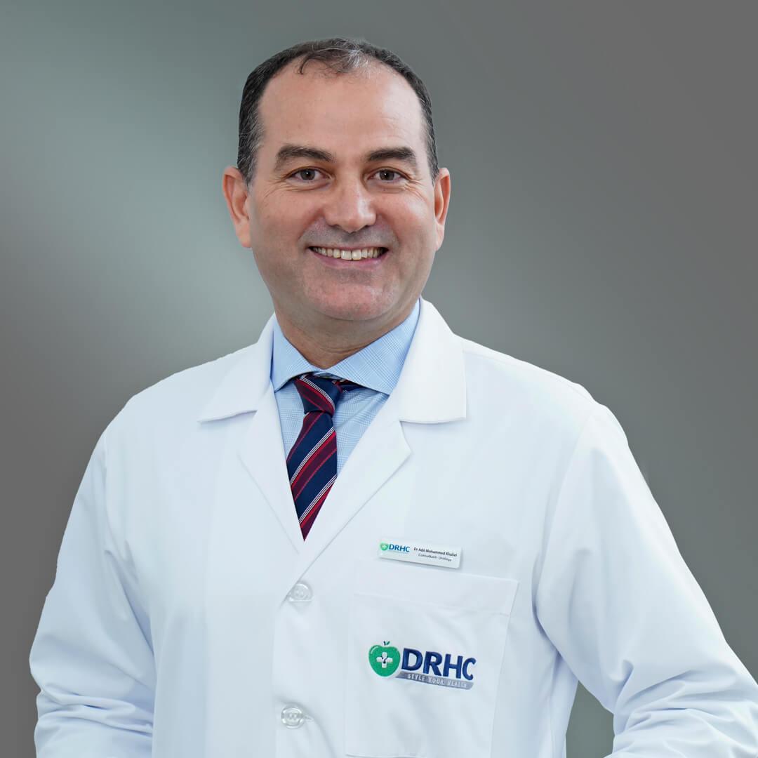 Dr. Adil M. Khaliel Consultant Urologist - DRHC Dubai Urology Clinic-1
