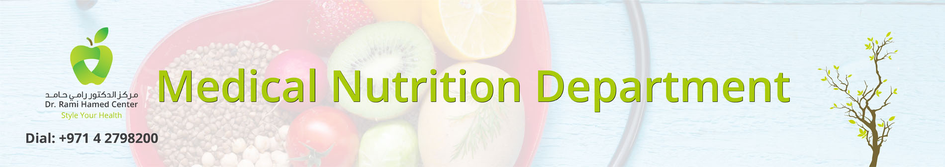 Dubai Nutrition Clinic Medical Nutrition
